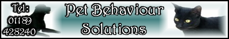 Pet Behaviour Solutions Banner
